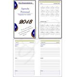Agenda 2018 Para Imprimir Personal Editable Publisher