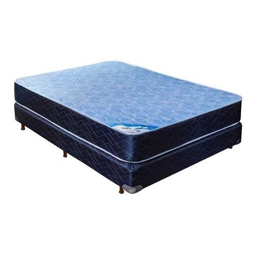 Sommier Gani Blue Spring 2 1/2 plazas 190x140cm azul