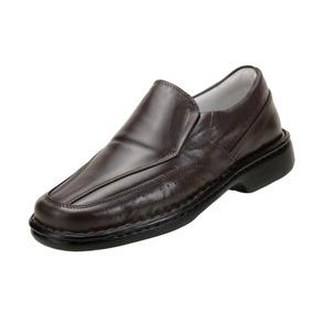 Sapato Social Conforto Masculino Anti Stress Couro - 1751