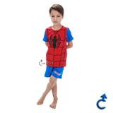 Pijama Infantil Homem Aranha Spider 21 - Marvel 27.05.0004