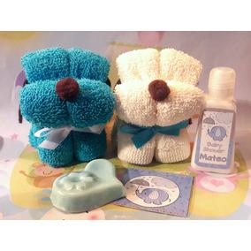 Perritos Figura Toalla Recuerdo Bautizo Baby Nacimiento Xv B