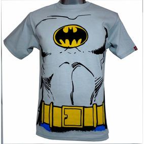 Playera Batman Traje Vintage Dc Comics Talla L