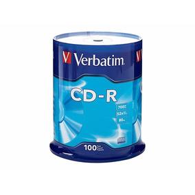 200 Disco Cd-r Verbatim 52x 80 Min 700 Mb Envío Gratis Msi