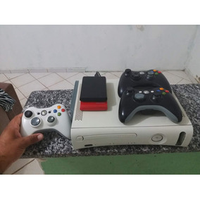 Xbox 360 Desbloqueado + 3 Controles + Hd Interno 250gb...