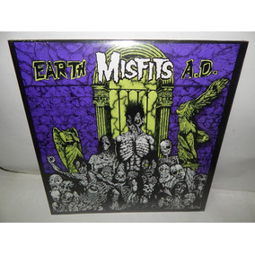 Misfits Disco Lp Vinil Acetato Earth Exploited Ramones Dist0
