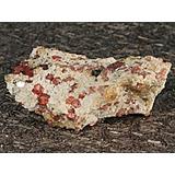 Espécimen Mineral De Granada Roja De Frambuesa