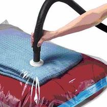 Bolsa De Vacío Tipo Space Bag 60 X 80 Cm Para Comprimir Ropa