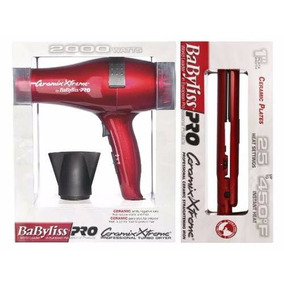 Babyliss Combo Ceramic Xtreme Secadora Y Plancha Profesional