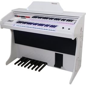 Orgão Eletrônico Harmonia Hs 200 Branco Kids