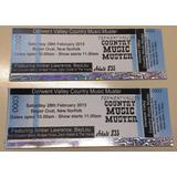 100 Ticket Entradas Para Eventos Holograficos, Envio Express