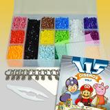 Kit Épico 8000 Beads Midi 2 Bases Libro Pinza - Hama Perler