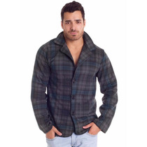 Jaqueta | Casaco Blusa De Frio Masculina Xadrez Tipo Blazer