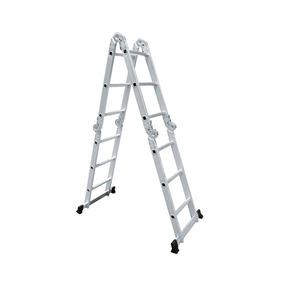 Escalera Multiproposito De Aluminio 12 Escalones