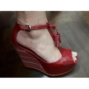 Zapatos Mellissa Taco Chino De 12 Cm Aprox.