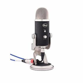 Microfono Blue Mic Usb Yeti Pro Condensador Gtía Oficial