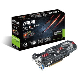 Asus Geforce Gtx 650 Ti 1gb Ddr5 Directcu2 2cooler Vga Hdmi