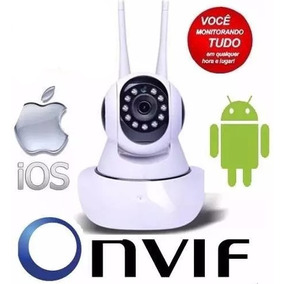 Camera Ip Robo Ahd Alta Definição P2p Onvif Micro Sd 360 G