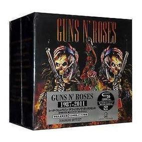 Guns N´ Roses 1987-2011 9 Cds + 2 Dvds Japan Boxset Nuevo