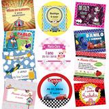 Adesivos Etiquetas Personalizadas Festa Infantil Sem Recorte
