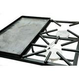 Reverbero,cocina,primo 2 Hornillas + Plancha 60x60x15cm