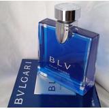 Perfume Locion Bvlgari Blv 100 Ml Para Hombre Original