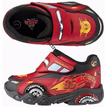 Zapatilla Original De Disney Cars , 25 , 26 , 27 Con Luces