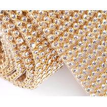 Manta De Strass Atacado 45x6 - Dourado, Prata, Colorido