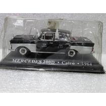 Mercedes 200d Cairo 1964 Táxis Clássicos 1:43