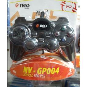 Joystick Para Play 2, Neo Nv Gp 004, Con Cable, Ps 2