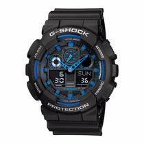 Relógio Casio G-shock Ga-100-1a2dr Nota E Garantia