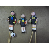 Figuras De Arbitros Para Futbol (masa Flexible ) Undidad