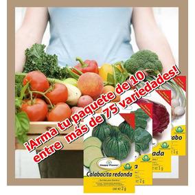 Semillas Para Siembra (paquete 10 Sobres (flete Gratis)