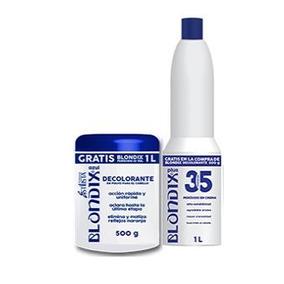 Blondix Polvo Decolorante Bote 500gr + Perxido 350gr