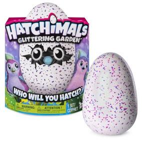 Hatchimals Golden Lynx Y Pengualas Glitter Original Toybox