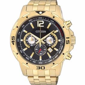 Relógio Citizen Masculino Cronógrafo - Tz30839u Dourado