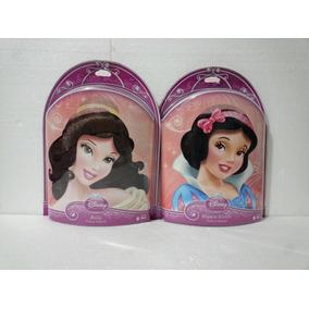 Disney Princesas Bella Y Blanca Nieves Peluca Infantil Ruz