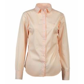 Camisa Mujer Elegante Algodón Lisa Brooksfield Bm03086z