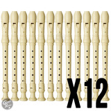 Flauta Dulce Yamaha Soprano Funda Original Do Pack X 12un
