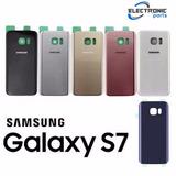 Tampa De Vidro Traseira Samsung Galaxy S7 Sm G930f G930fd