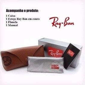 Capa Case Ray Ban Aviador - Óculos no Mercado Livre Brasil b524593883