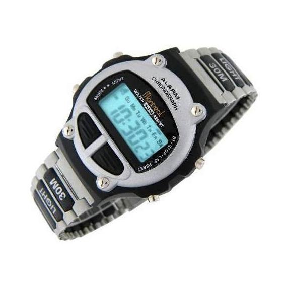 Reloj Montreal Hombre Ml617 Crono Alarma Sumerg Envío Gratis