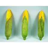 1 Sabugo D Milho Artificial Legumes Decoração Visconde Sitio