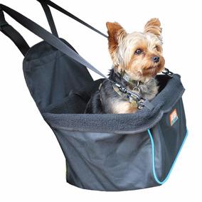 Asiento Para Perros Auto Canasta Mascotas Azul *envio Gratis
