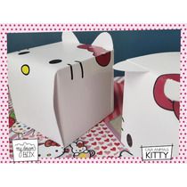 Souvenir Evento Caja Z1 Personalizada Cumple Hello Kitty