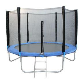 Pula Pula Trampolim Cama Elástica Jump 3.10m Escada E Rede