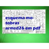 Esquema Motobras Em Pdf Arm-sd26 Armsd26 Sd26 Autoradio