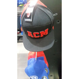 Gorra Cachucha adidas Ac Milan Fitted Cap - Black/red