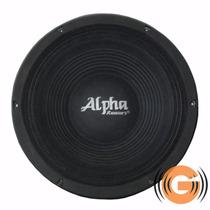Alto Falante Alpha Khromus Woofer 15 1200w Goiás Musical