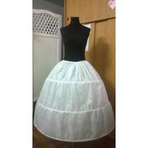 Enagua C/aros - Miriñaqe Para Vestido Fiesta, 15 Años, Novia