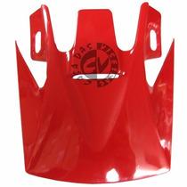 Pala Para Capacete Ebf 10 Cross Vermelha Original